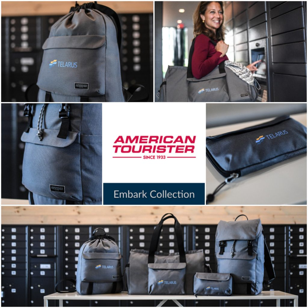 Embark Collection by American Tourister Collage