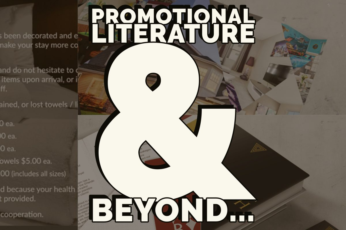 Featured Image - Promotional Literature and beyond